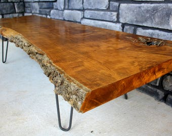 Live Edge Table, Live Edge Coffee Table, Live Edge Furniture, Wood Slab,  End Table, TV Stand, Console Table, Desk, Wood Shelves