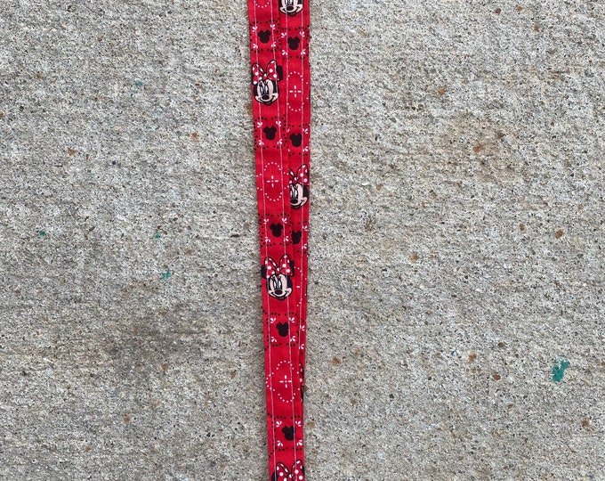 Minnie Mouse lanyard Minnie Mouse Keychain