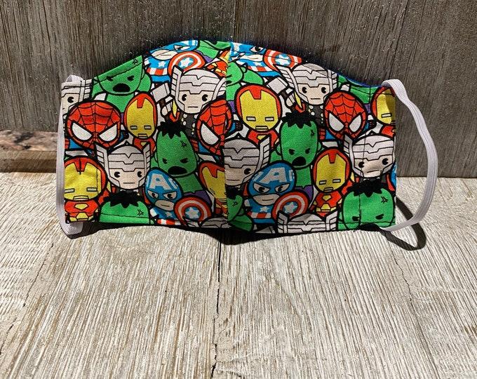 Kids Face mask Marvel face mask