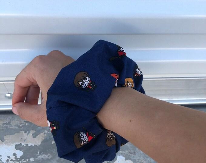Harry Potter scrunchie Harry Potter hair tie Harry Potter gift idea Stocking Gift idea Oversized