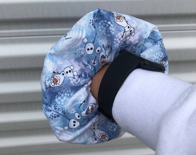 Olaf scrunchie Olaf hair tie frozen gift Olaf gift