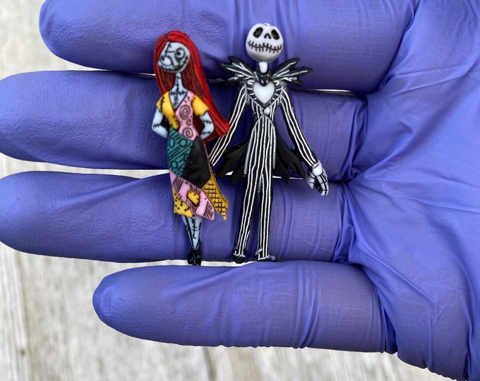 Nightmare Before Christmas earrings Sally earrings Jack earrings
