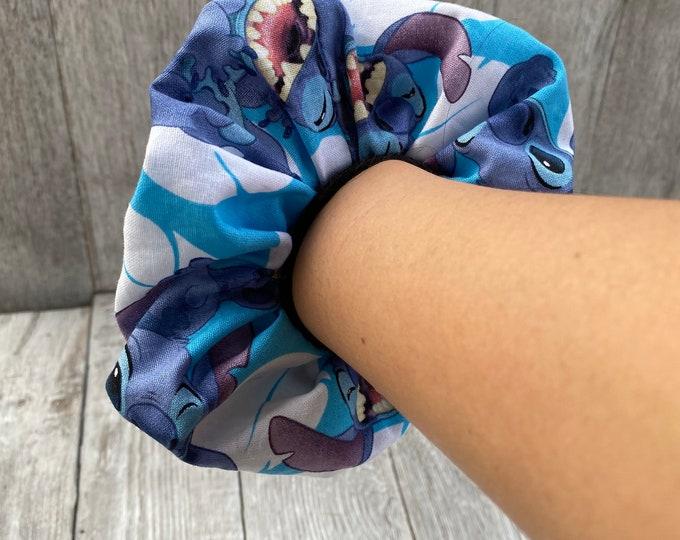 Stitch Scrunchie Stitch hair tie oversized