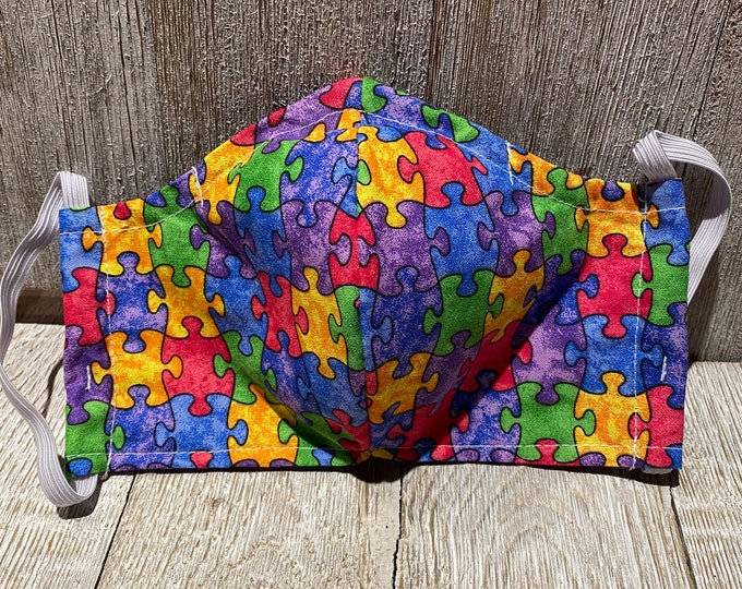 Face mask Puzzle piece mask