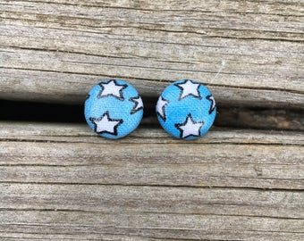 Wonder Women bottoms fabric stud earrings