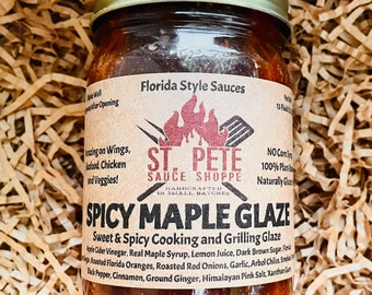 Spicy Maple Glaze