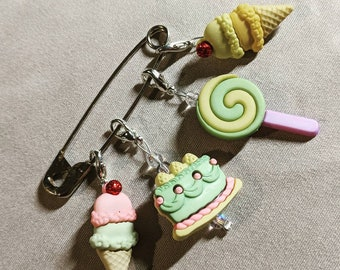 Sweet Treats Crochet Stitch Markers (Set of 4)