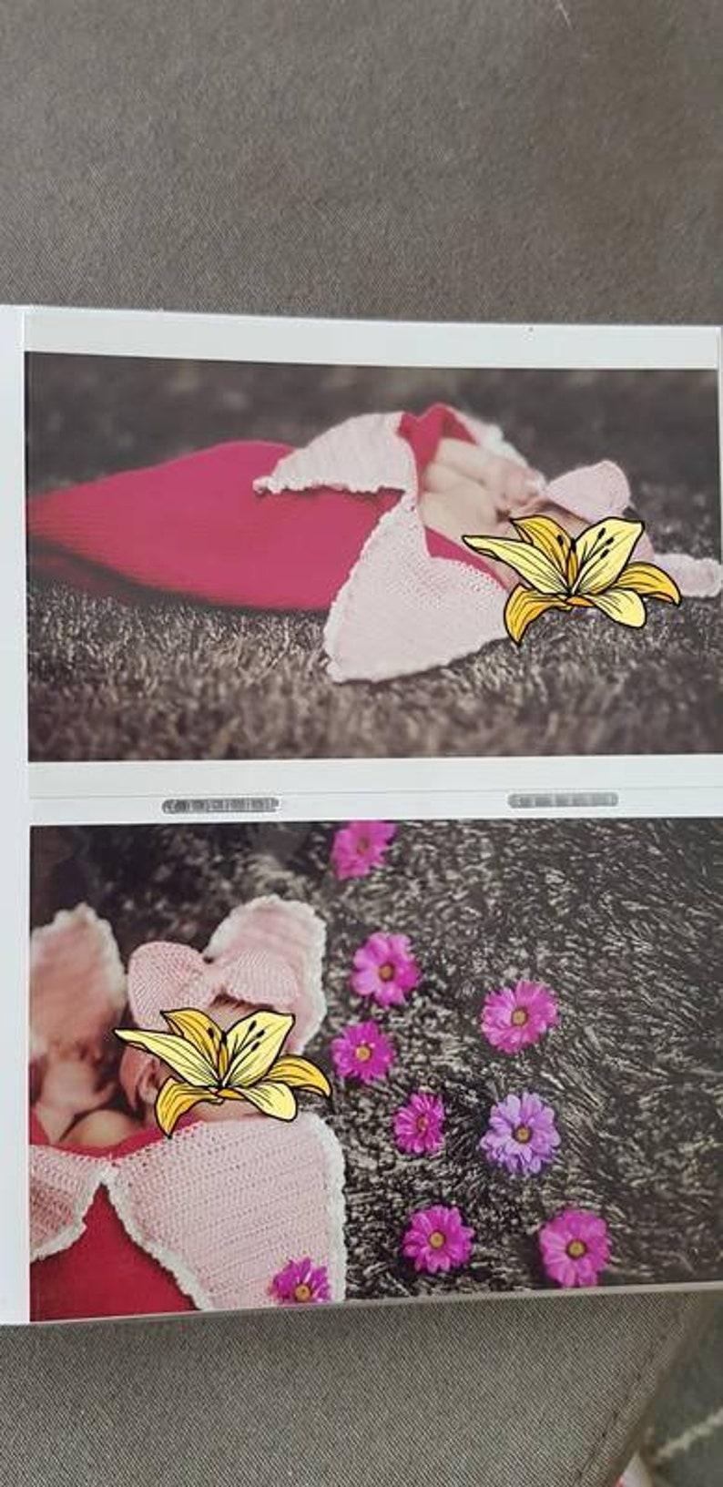 Fairing for photo shoot pucksack Cocoon flower