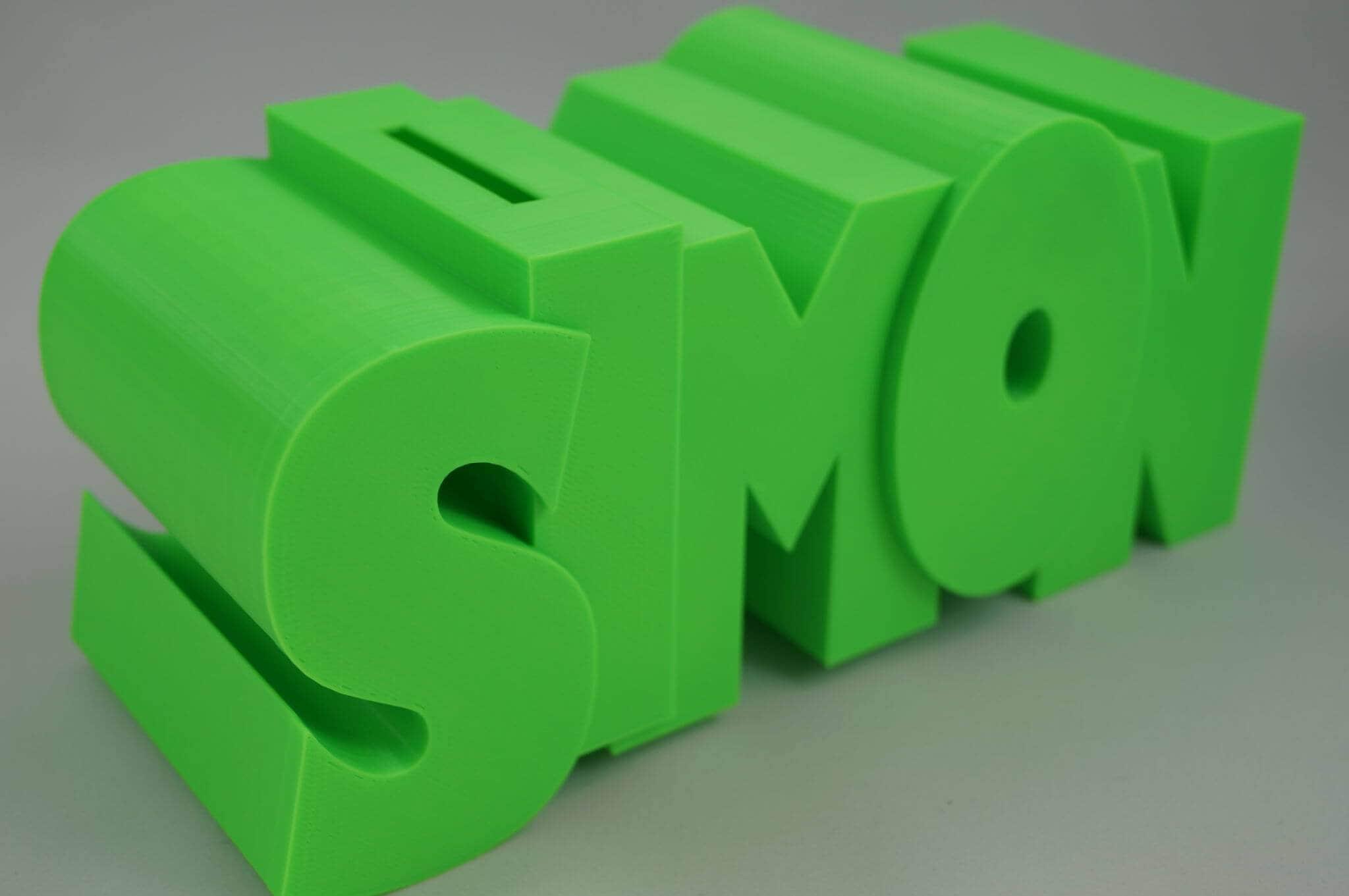 Personalized Money Box  Custom Name Money Box  Monogram image 3