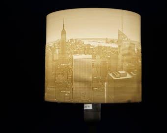 Individual lamps lamp shade floor lamp present