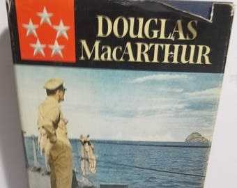 Vintage Douglas MacArthur Reminiscences First Edition 1964 Hardcover Dust Cover