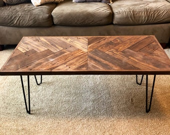 4ae9e69f696e2 Rustic coffee table