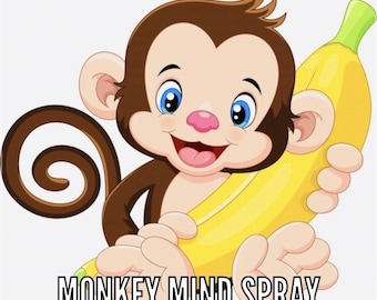 Monkey Mind Spray (for Focus and Concentration)