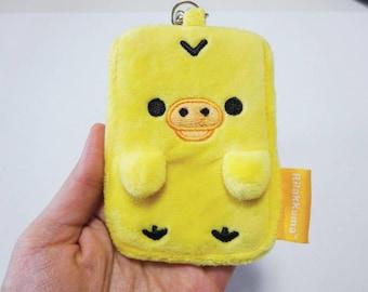 Rilakkuma's little chick card holder