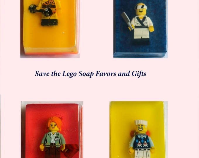 Lego Miniature Inspired Surprise Inside Party Favor and Gift