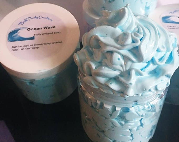 Fluffy Whipped Soap XL Assorted