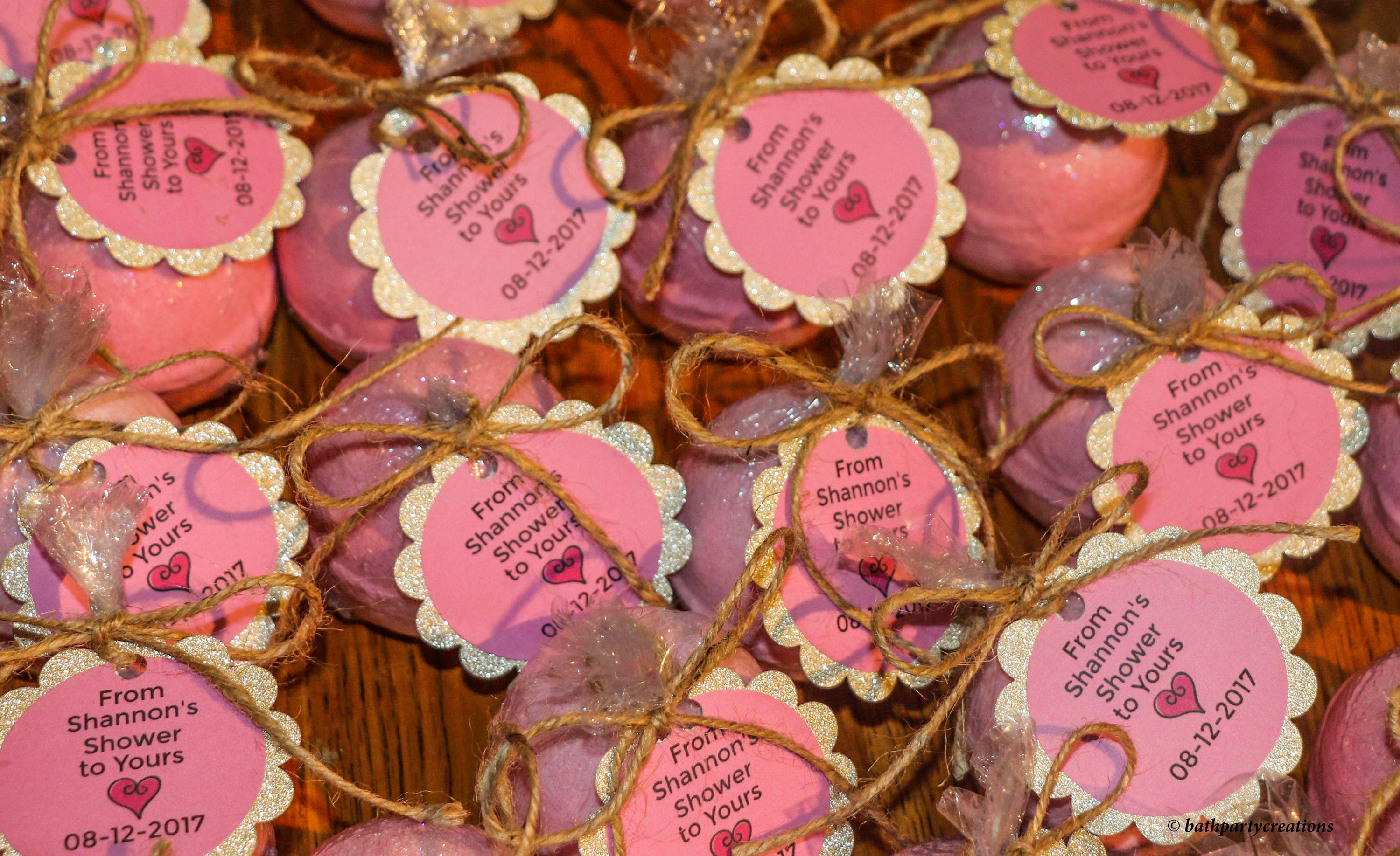 Custom Bath or Shower Favors multiple sizes multiple scents, Baby ...