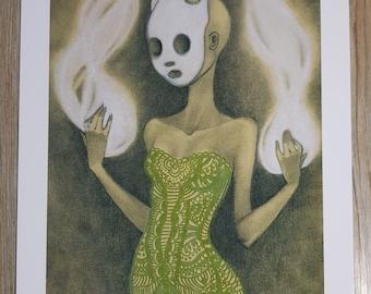 Art print Din A4 - Soul collectress