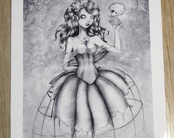 Art print Din A4 - my friend