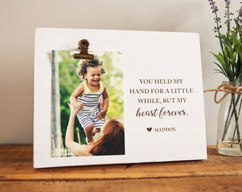 Personalized Babysitter Picture Frame, Nanny Birthday, Daycare Child Care Provider Appreciation, Teacher Christmas, Farmhouse Gift from Kids