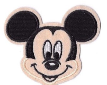 06ecad649 MICKEY MOUSE Iron on / Sew on Patch Embroidered Badge Cartoon TV PT76