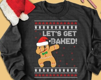Baker Ugly Sweater Etsy