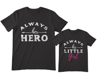 937bdb17 Dad and Daughter Shirts, Daddy and daughter shirts, Matching Dad and  daughter, Father daughter shirts, dad and daughter matching outfit