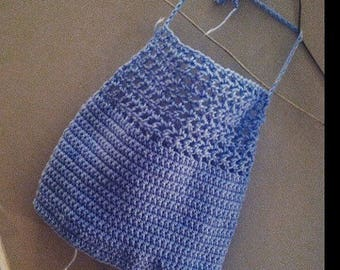 The Sidney Crochet Halter Top