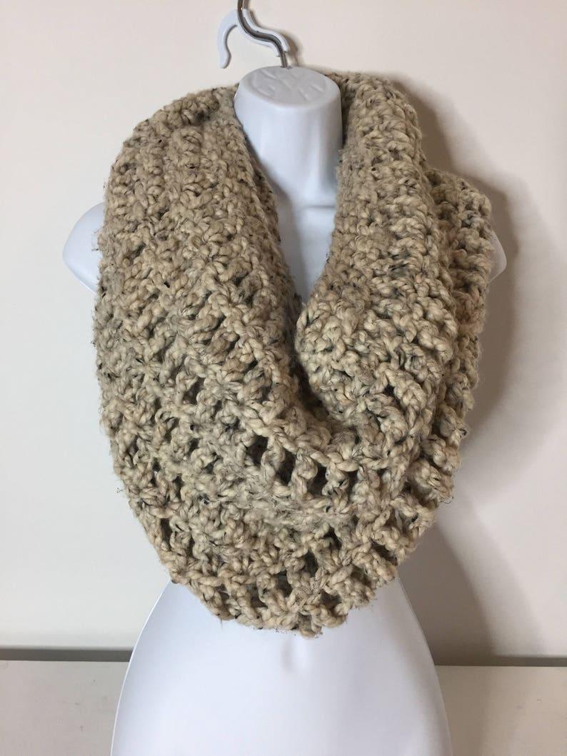 Chunky Cowl Crochet Scarf