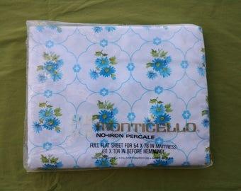 Vintage Monticello sheets