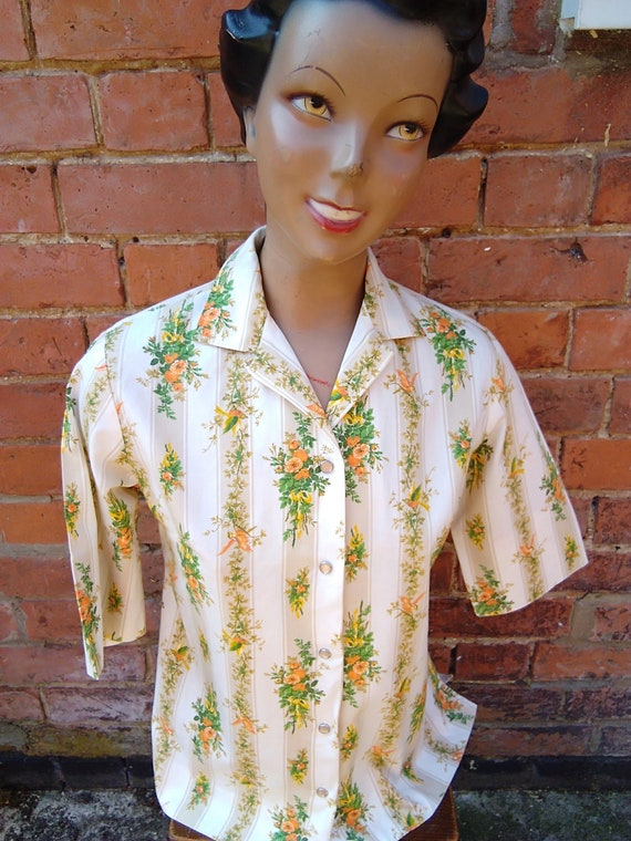 1950s H Bar C western blouse