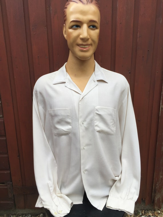 Large 50's Gabardine Shirt