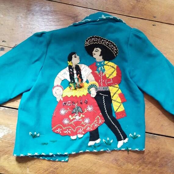 Vintage child's Mexican souviner jacket