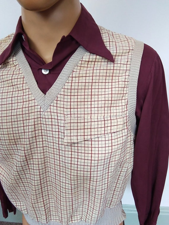 1940s Gaucho shirt - image 3