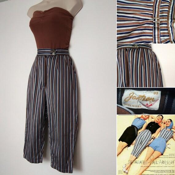 1950s Jantzen stripe capris