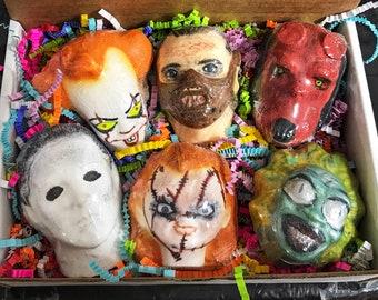 791bae197 HORROR BOX, Box of Horror Bath Bombs, Gift Box,