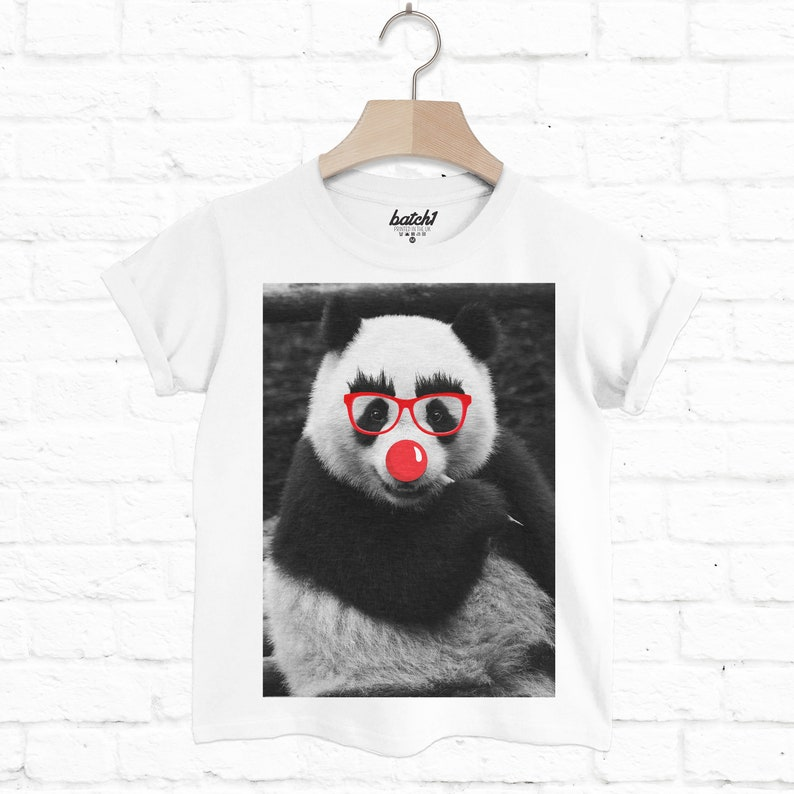 Batch1 Comic Relief Red Nose Day Funny Rabbit Children/'s Charity Fashion T-Shirt