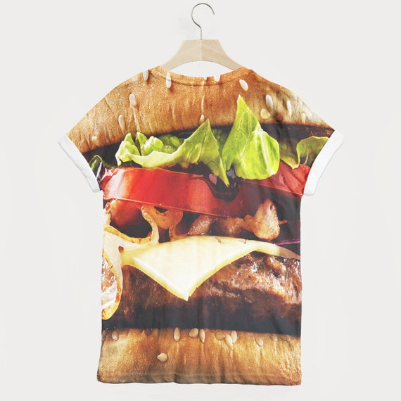 BATCH1 FRENCH FRIES ALL OVER FASHION PRINT NOVELTY FAST FOOD UNISEX T-SHIRT