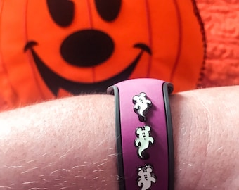 Mickey Ghost Glow in the dark Apple Watch or magic band charm