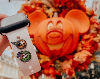 Witch Minnie and Boo to You Mickey Halloween Collection Magic Band or Apple Watch Band Charms
