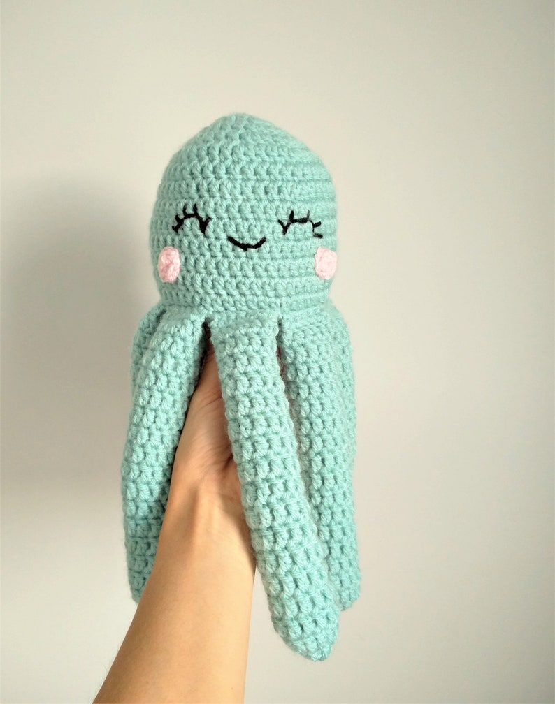 Free (Crochet) Pattern Friday! Octopus Amigurumi | Choly Knight | 1008x794