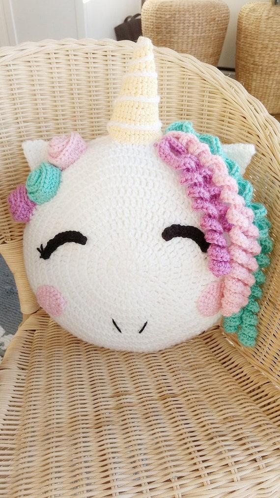 Unicorn/ unicorn pillow/ crochet Unicorn/ unicorn pattern/ | Etsy