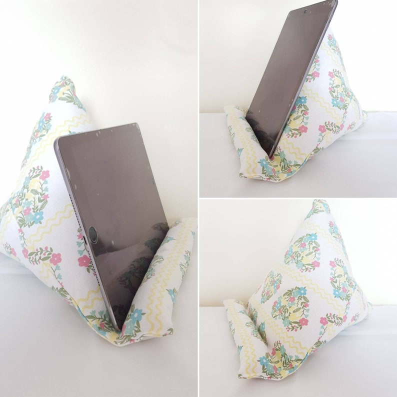 iPad Cushion Tablet Stand, iPad Stand Tech Accessories, Tablet Rest  Mobility Aid, Gift For Her