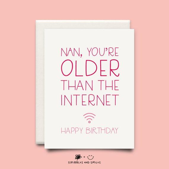 Birthday card nan