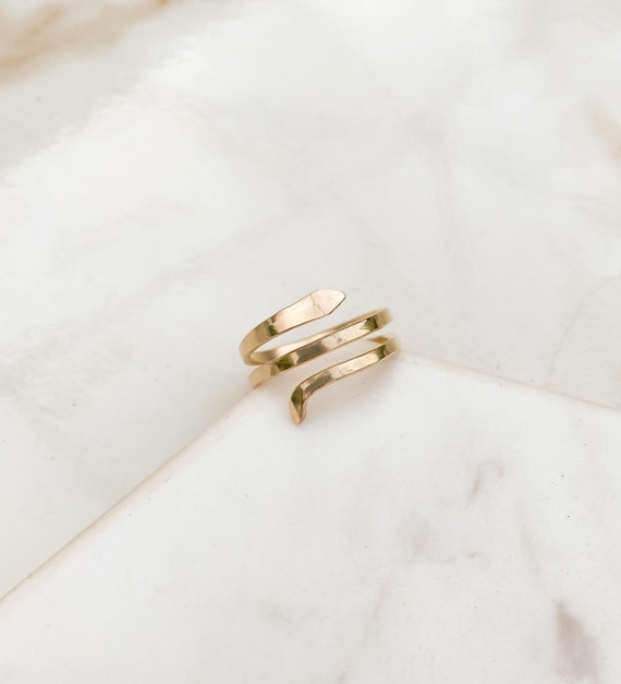 gold hammered ring 24k gold plated sterling silver wide ring made to order wrap ring handmade statement ring fall statement ring