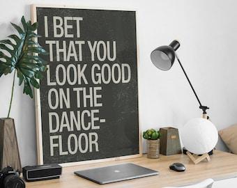 i bet you look good on the dance floor lyrics youtube stitches