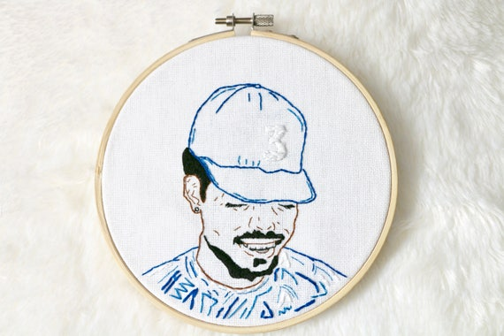 Embroidered Hoop Chance The Rapper Coloring Book Acid Rap