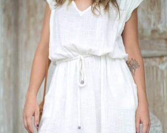 Cotton dress summer, sundress for women, cotton gauze dress, bridesmaid dress