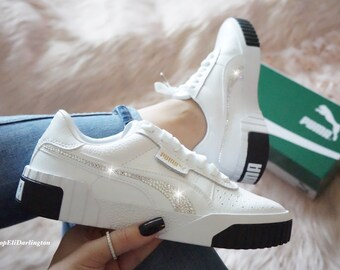 Chaussures Basket Puma Swarovski avec cristaux de Swarovski