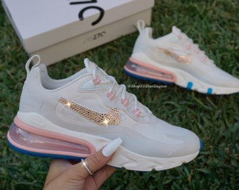 nike air max 270 grey and rose gold